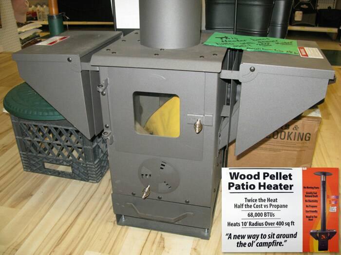 Estufas de pellet peque as para furgos y autocaravanas - Estufas de gas pequenas ...