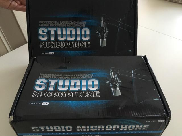 profesyonel kondenser mikrofonu