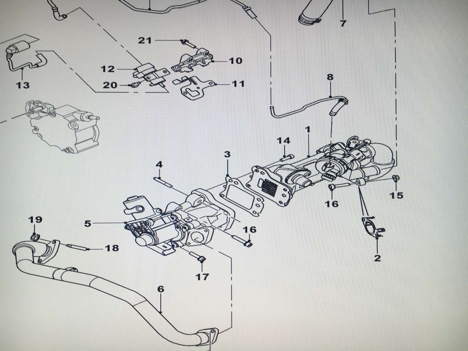 Locating EGR valve on 2 2 XF [Archive] - Jaginfo - Jaguar Forum