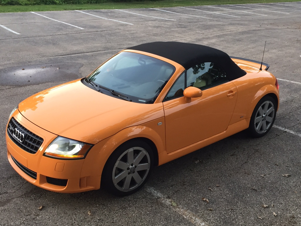 Autocheck Vs Carfax >> For Sale: 2005 TT 3.2 Quattro. Papaya Orange w/ Baseball ...