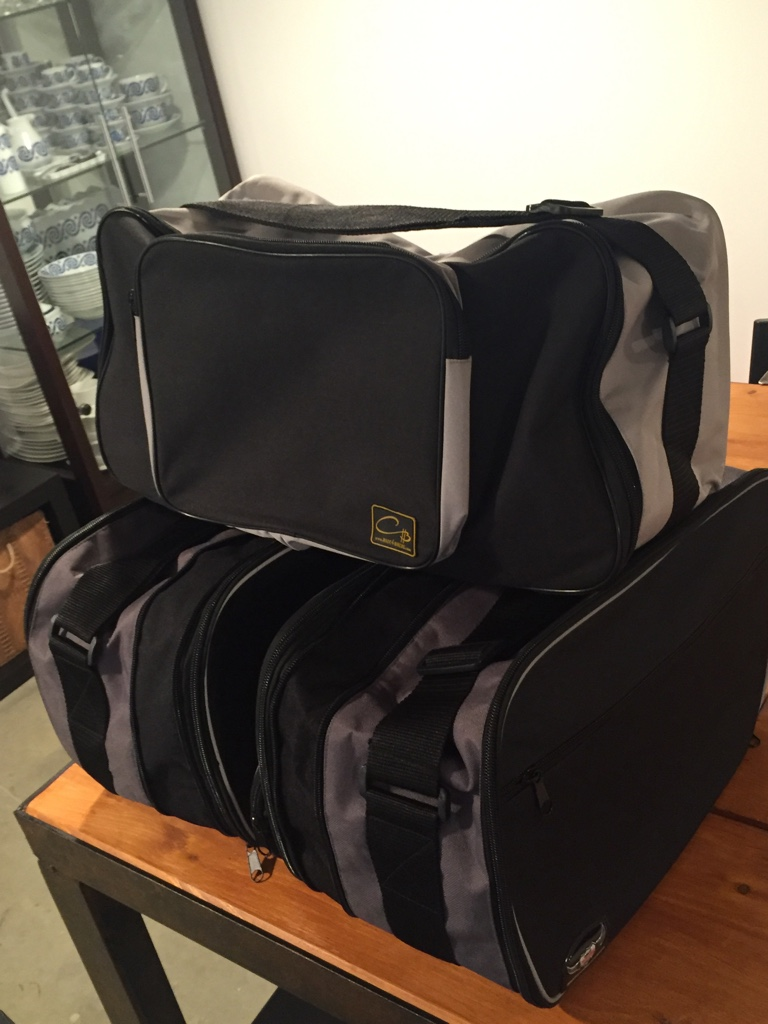 vendo bolsas interiores para maletas y top case rt