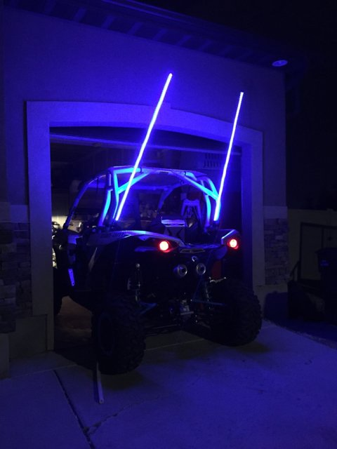 Running Wire For Whips And Lights