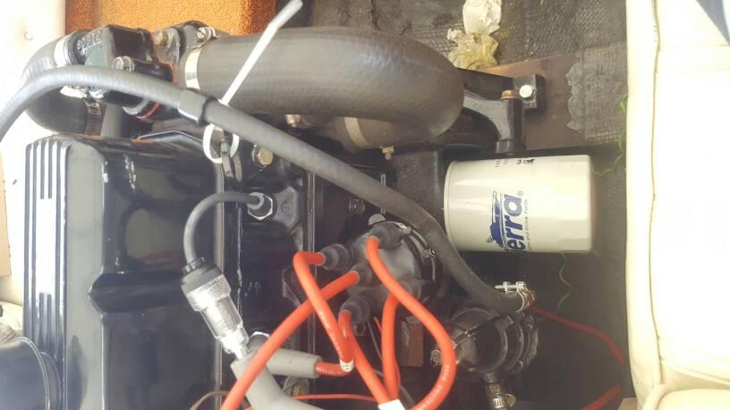 Mercruiser 140, starts when cold, won't start when hot?