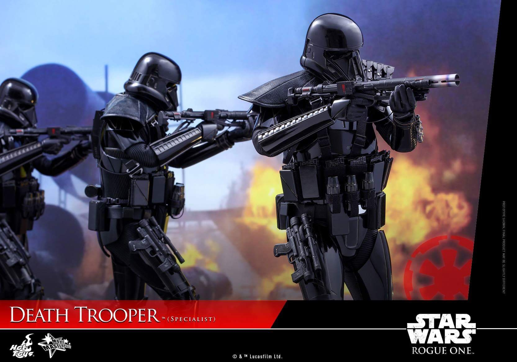 death troopers When rogue one: a star wars story jumps back in time to explore events that happened shortly before a new hope, moviegoers will meet the death troopers here's where these black-clad operatives originated, according to the director.