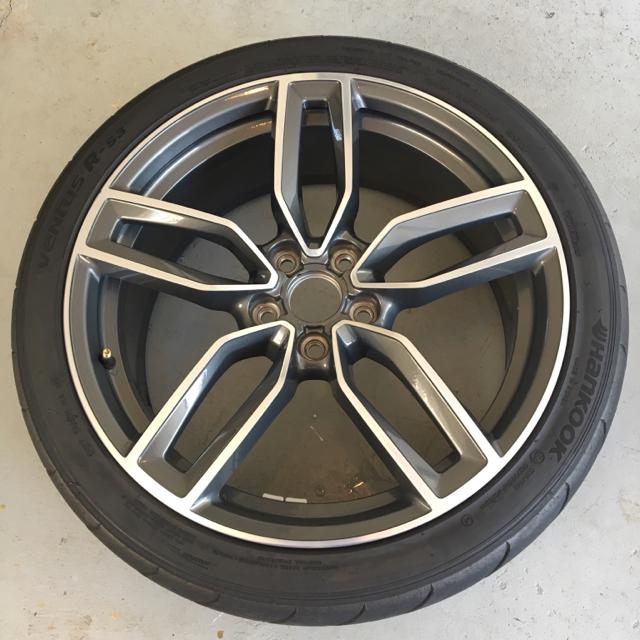 For Sale: OEM Audi S3 Wheels W/ Tires 19x8 Et49