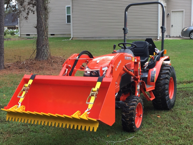 Kubota Ballast Box : Orangetractortalks everything kubota finally got it