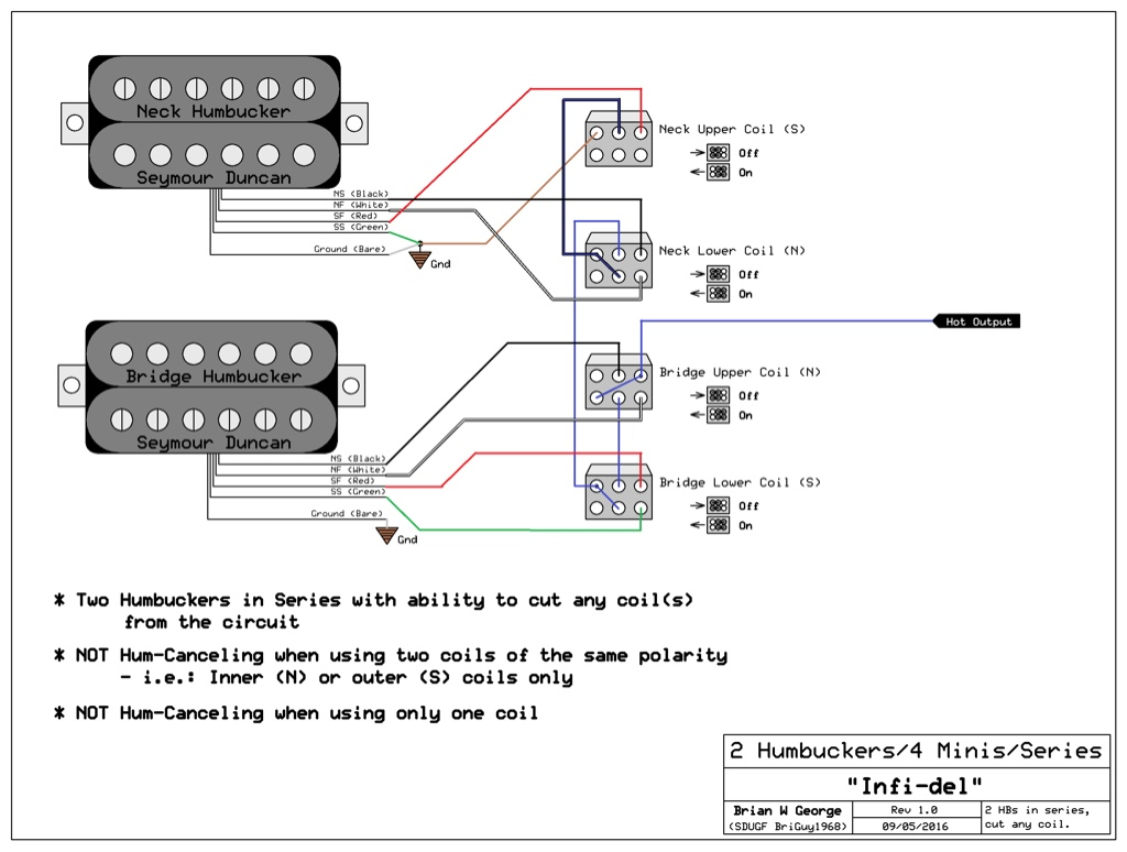 Charming Wiring Diagram For 150cc Scooter Big Two Humbuckers 5 Way Switch Solid Tsb Search 3 Coil Pickup Youthful 3 Pickup Guitar PurpleBulldog Remote Vehicle Starter System Two Humbuckers With 4 Switches?