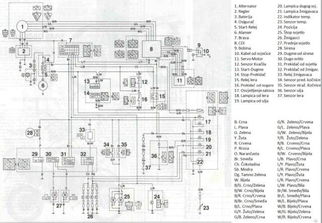 Yamaha Tzr 125 Wiring Diagram