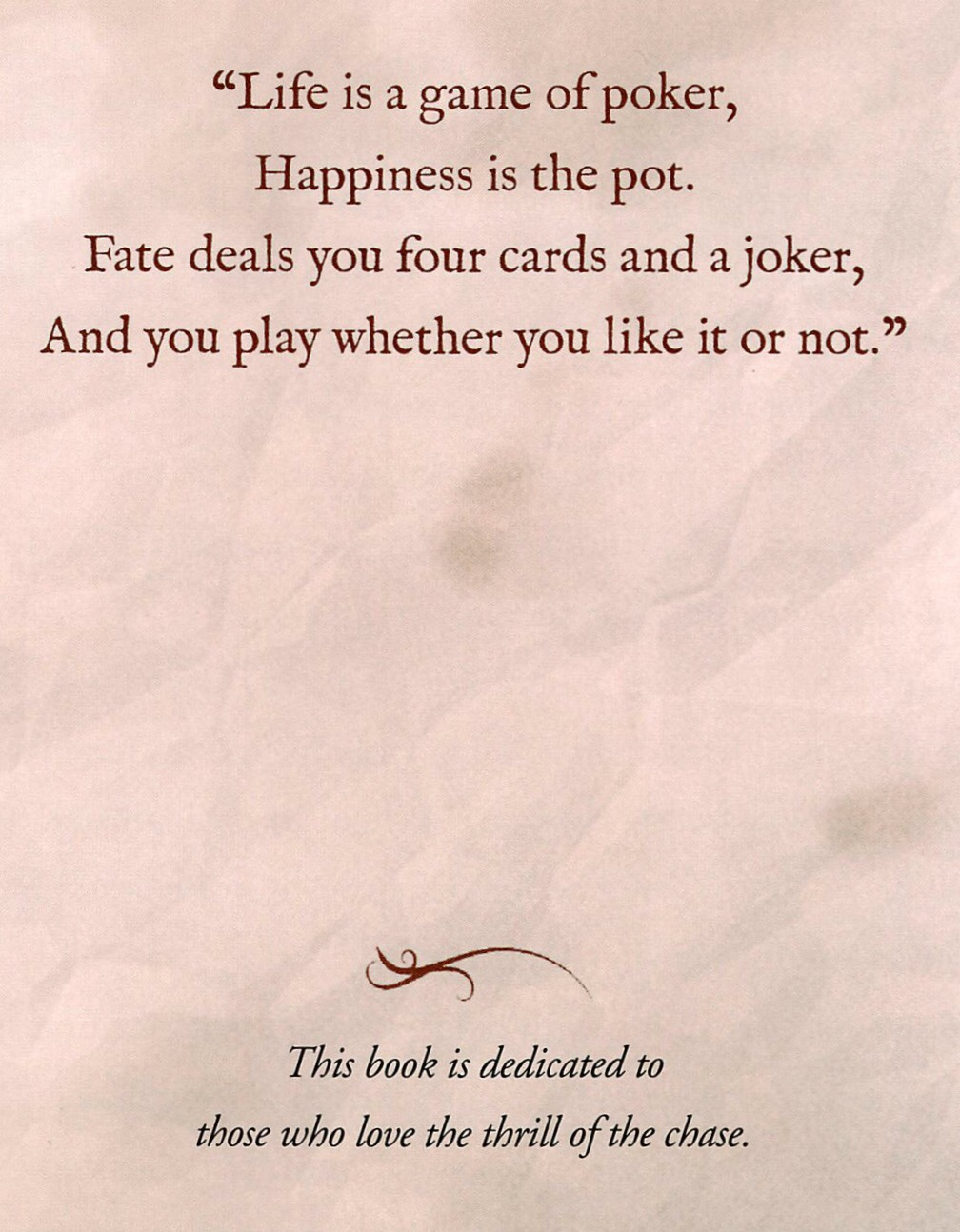 Inspirational quotes about poker