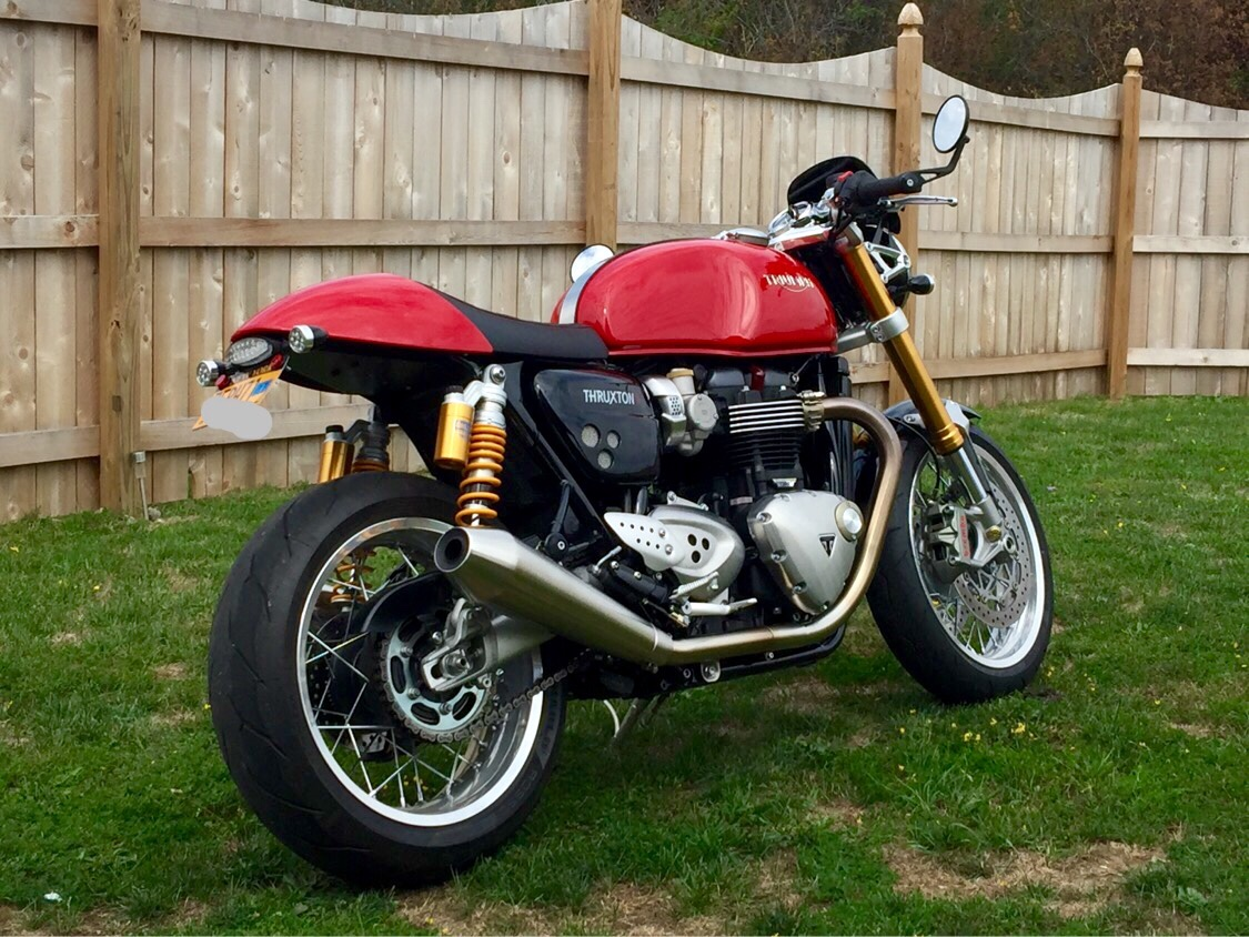 show your thruxton r standard 1200 mods so far page 3 triumph forum triumph rat motorcycle. Black Bedroom Furniture Sets. Home Design Ideas