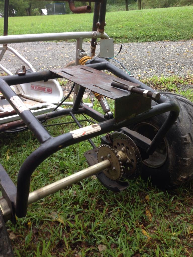 Helix 150cc motor swap - DIY Go Kart Forum