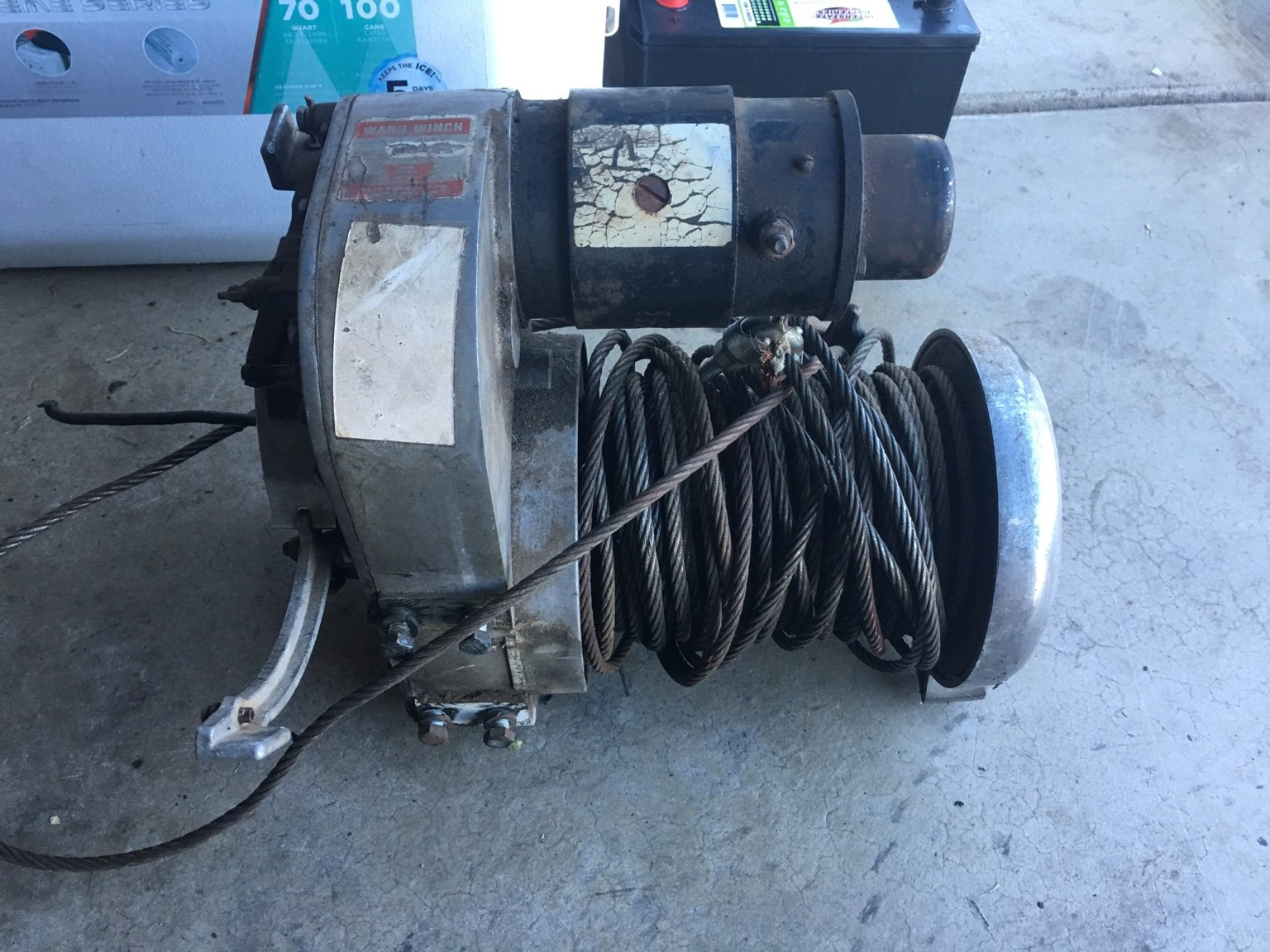 Identify this old Warn Winch for me  | RME4x4 com