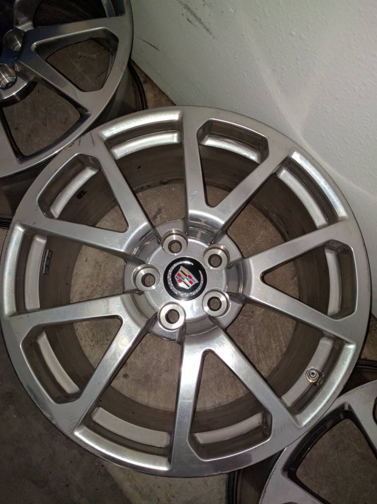 Cadillac Cts Coupe For Sale >> Cadillac CTS V coupe wheels - Pontiac G8 Forum: G8 Forums ...