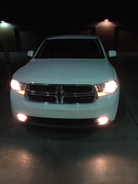 White Dodge Durango >> 2013 Dodge Durango Crew HID help