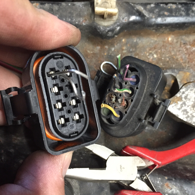 Removing pins from connector - TDIClub Forums
