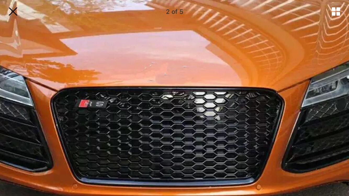 R8 new front grill