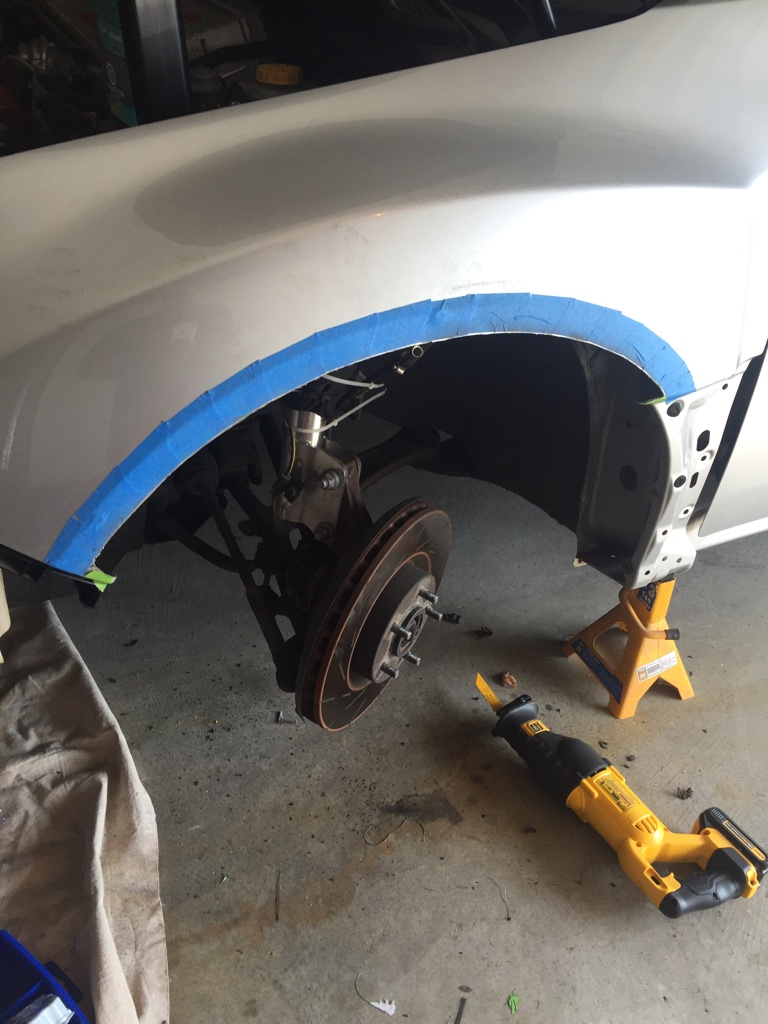 For those running fender flares and low offset wheels    - Subaru