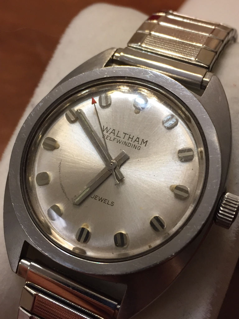 "FS: ""The Dexter Watch"" Waltham 25 Jewel 1970s"