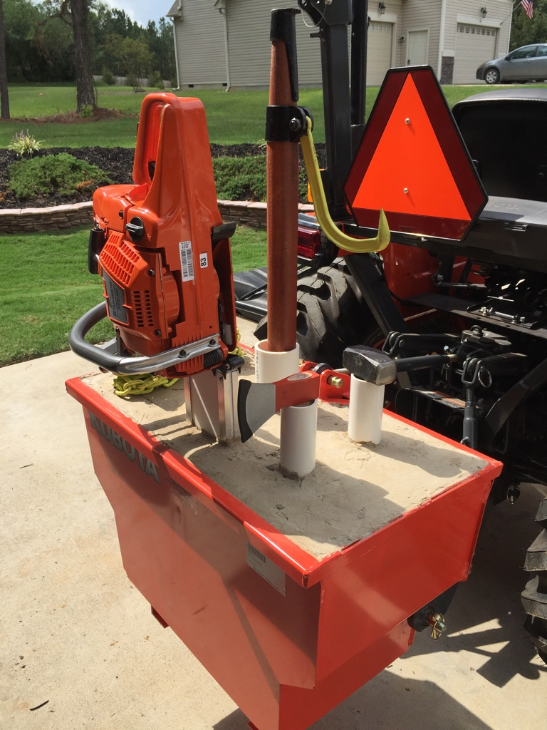 Kubota Ballast Box : B ballast box orangetractortalks everything kubota