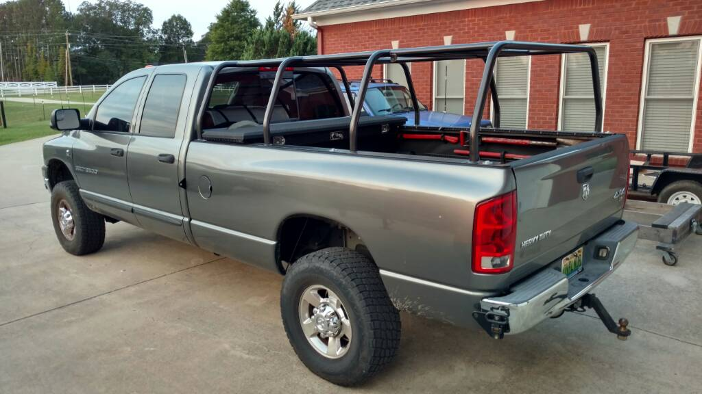 Bed Rack Fabrication For Rtt 06 Dodge Ram 3500 Page 3