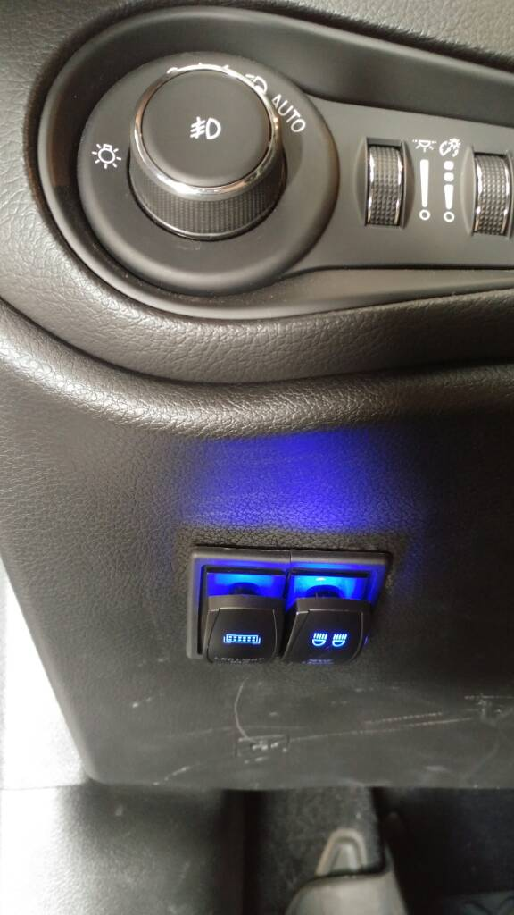 LED light bar switch - Page 3 - Jeep Renegade Forum