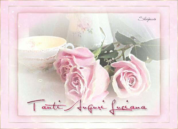 Buon compleanno Elenamaria, alias Luciana