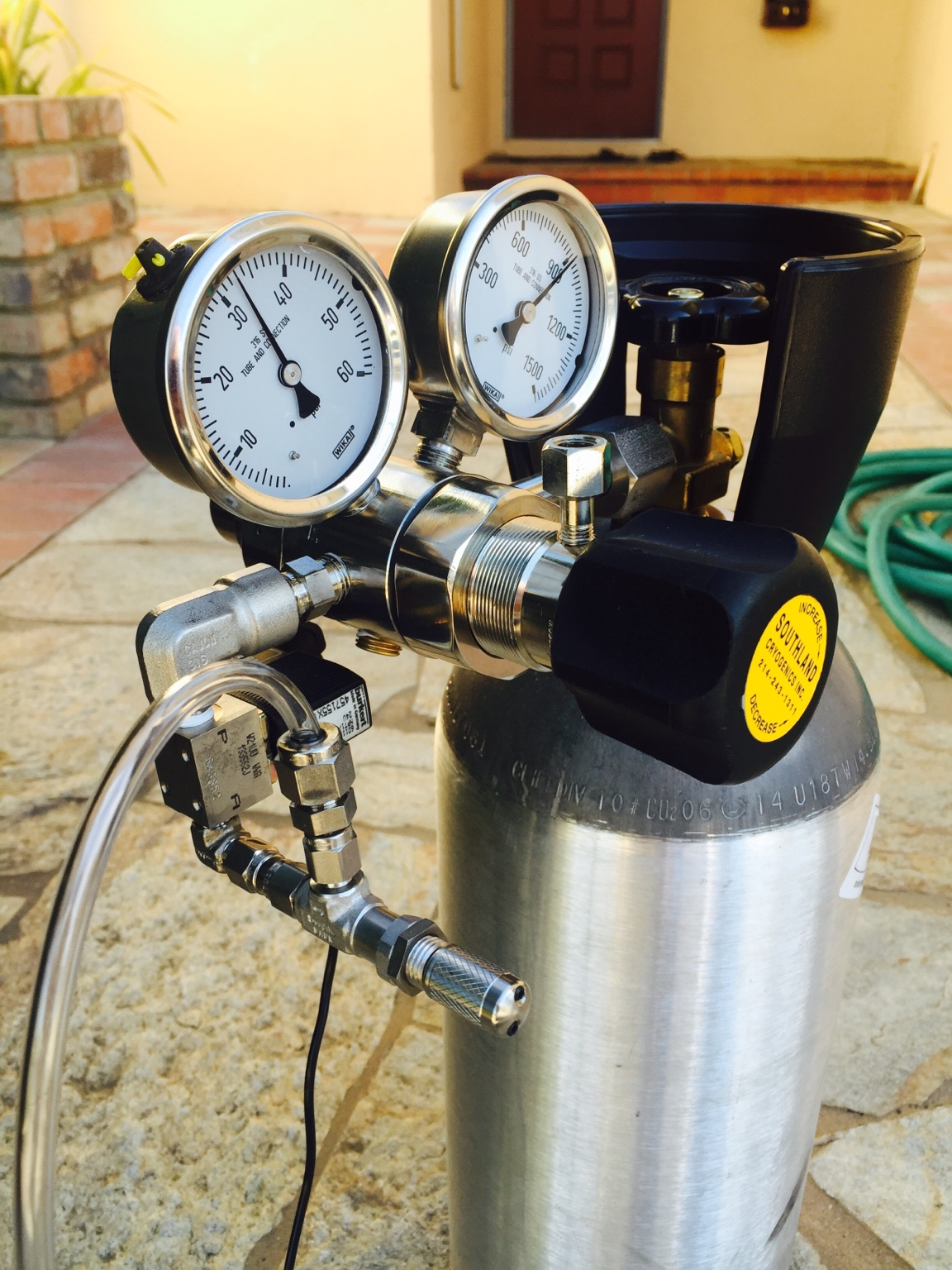 how to build a co2 regulator