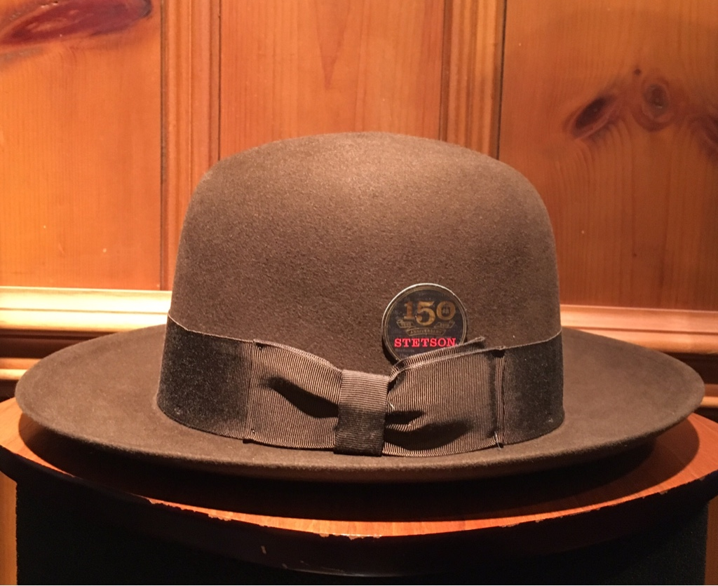 Stetson New York Open Crown Fedora Color Tobacco   IMG  ... 53727094565