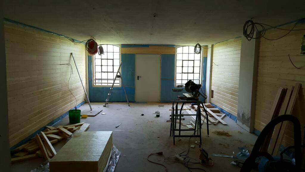 werkstattumbau woodworker. Black Bedroom Furniture Sets. Home Design Ideas