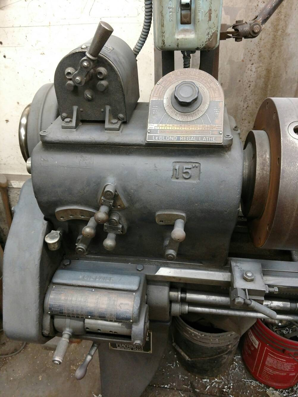 ad0341117feeb939d5bb6818e5c5d5f3 acquired my first lathe leblond 15\