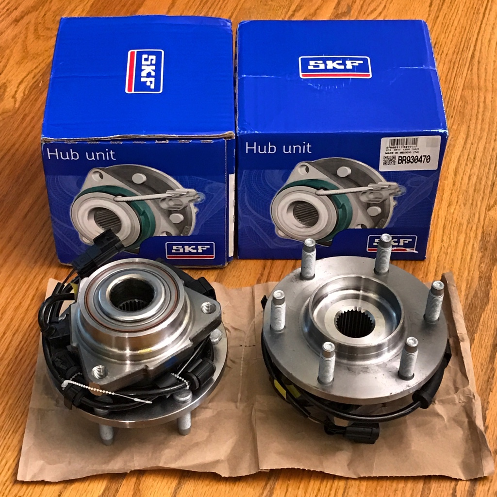 Wheel bearing/hub assemblies - 1a auto, timken, or Napa [Archive