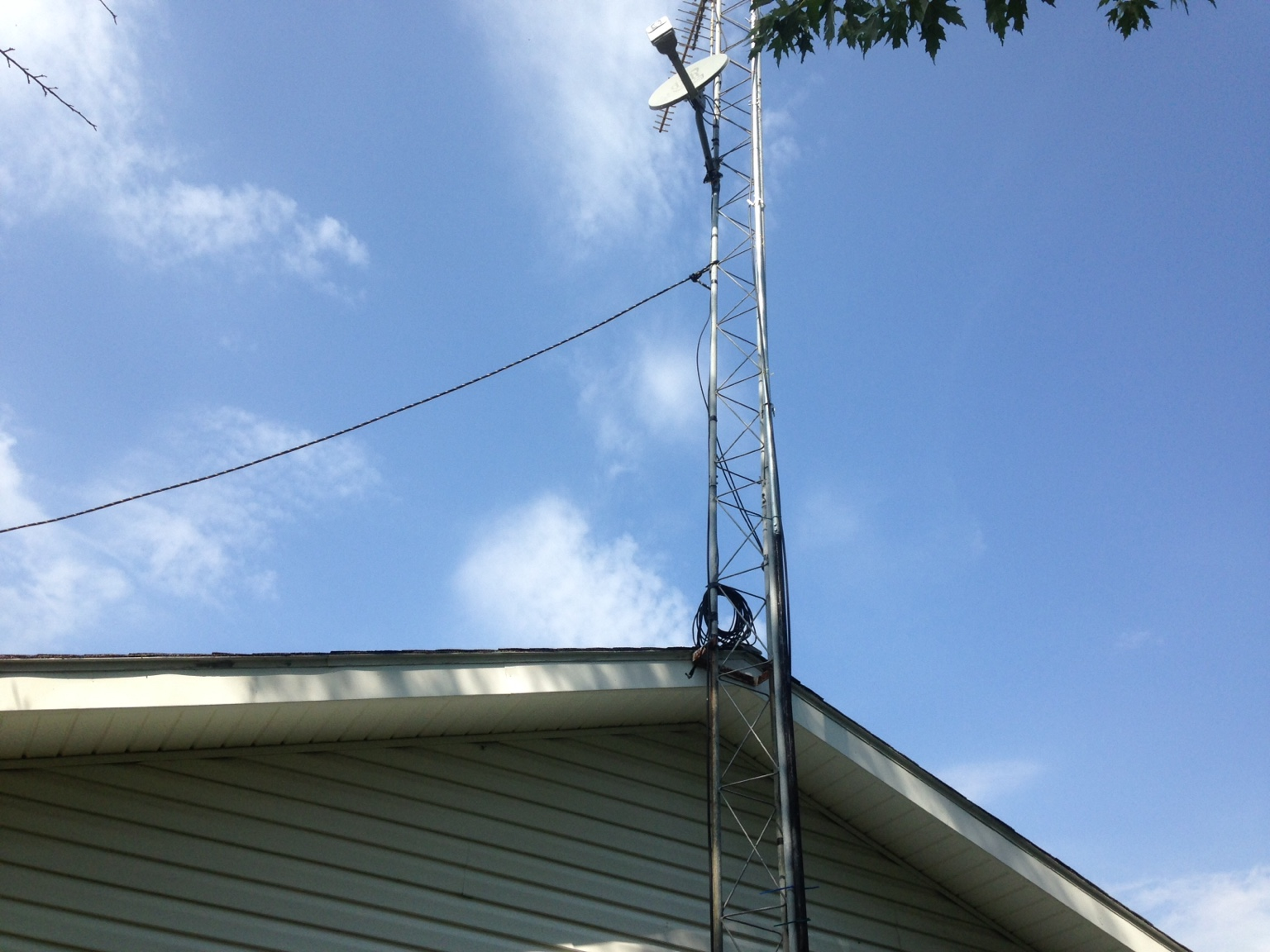 Adding hinges to an antenna tower  | All Things Habitat - Lets talk