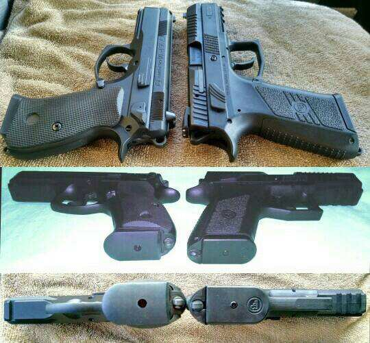 CZ P07 magazines and sights? - The Firing Line Forums