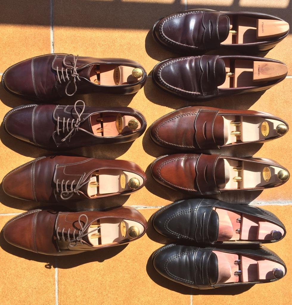 Enseña tus zapatos de cordoban
