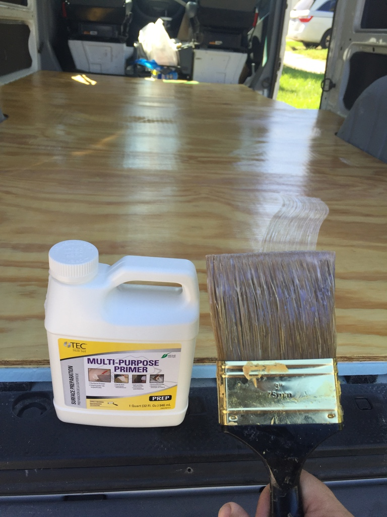 Sprinter forum view single post 2006 t1n conversion for Latex primer for vinyl flooring