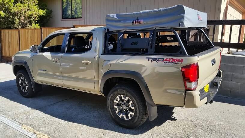 2017 tacoma 4 door trd off road build thread american adventurist. Black Bedroom Furniture Sets. Home Design Ideas