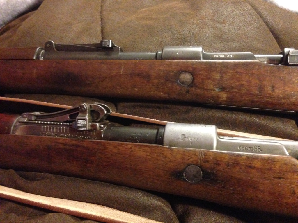 Flat Mauser GEW 98 Buttplate Old Style