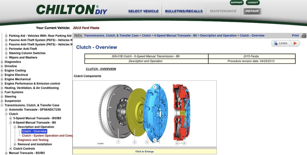 manuals chilton vs helm rh fiestastforum com Ford Manual Shift Ford Focus Manual