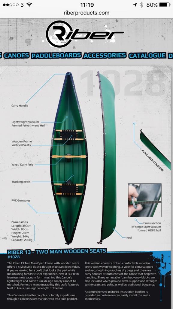 Riber canoes