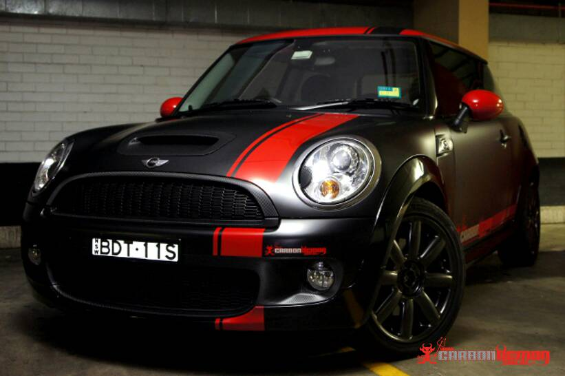 F56 Offset Stripe Package 2015 Mini Cooper Forum