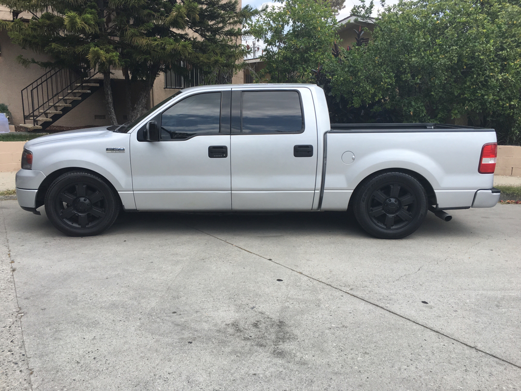 2004 f150 dropped towing