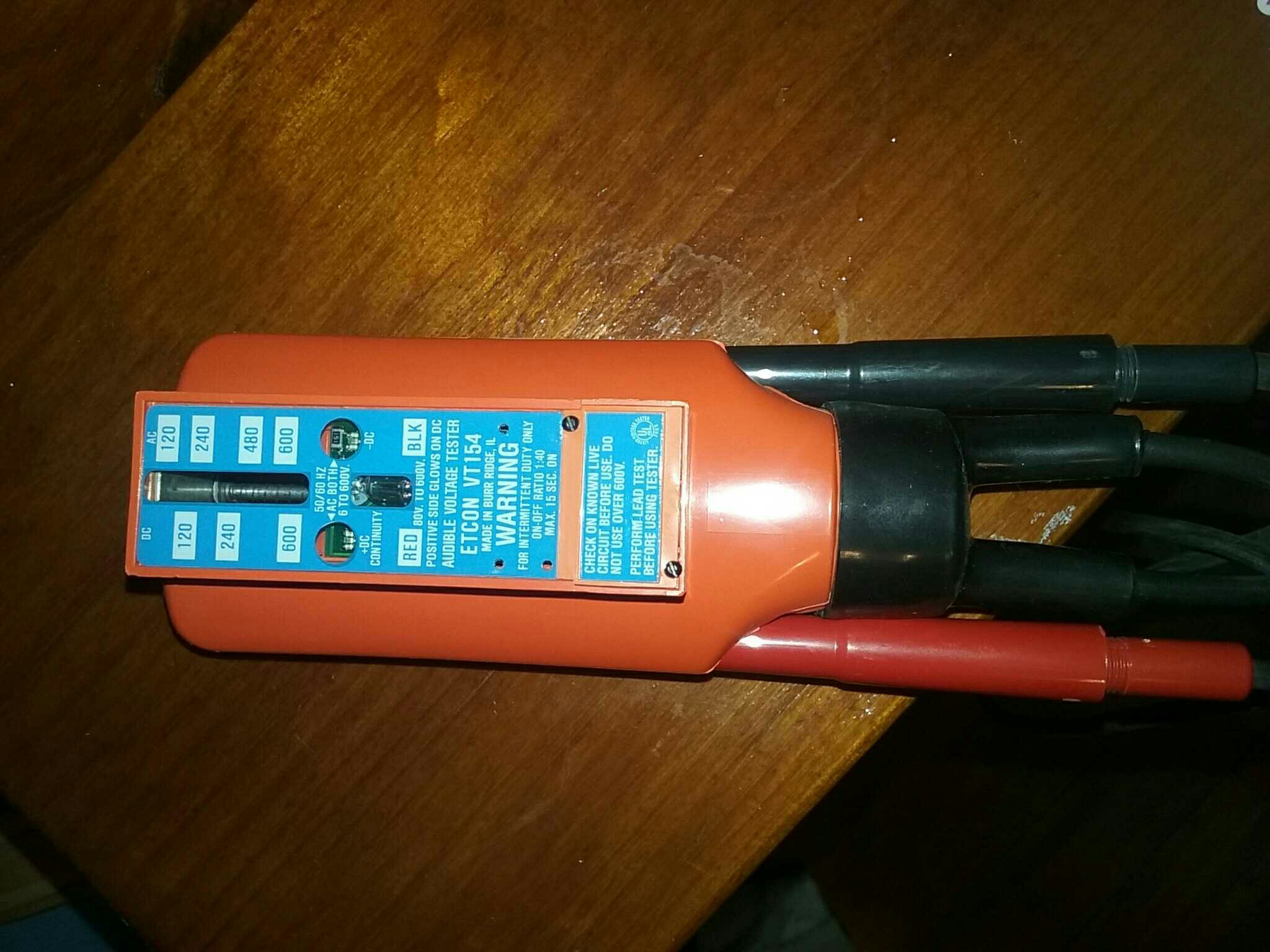 Klein Wiggy Voltage Tester : Electrician talk professional electrical contractors