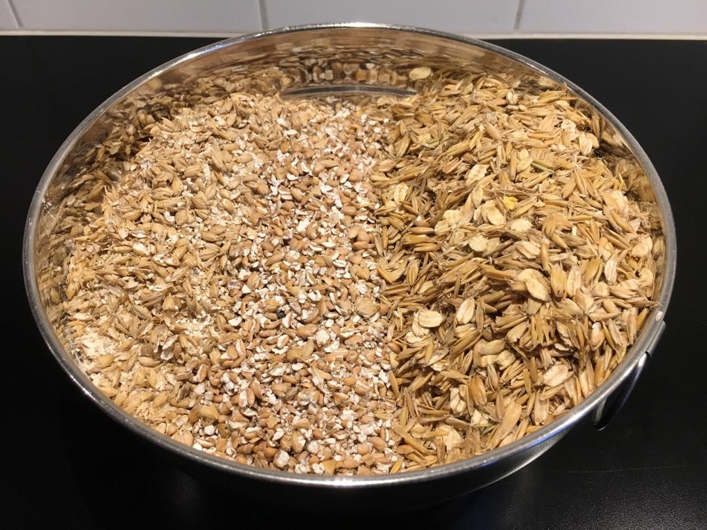 Flaked oats havregryn