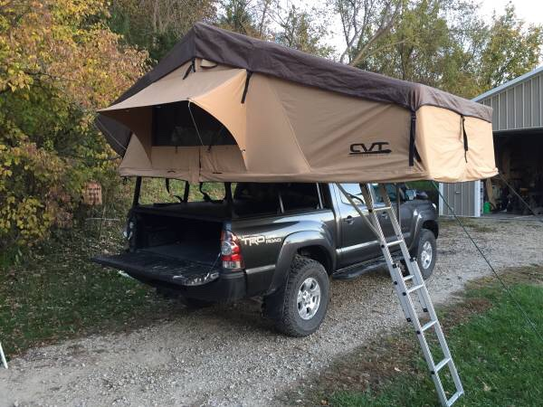 Comes with bed rack and tonneau cover. The tonneau cover and bed rack are approximately 1 year old. Bedrack fits 2005-2015 short bed Toyota Tacoma. & Cvt mt. Rainer with bedrack - Expedition Portal