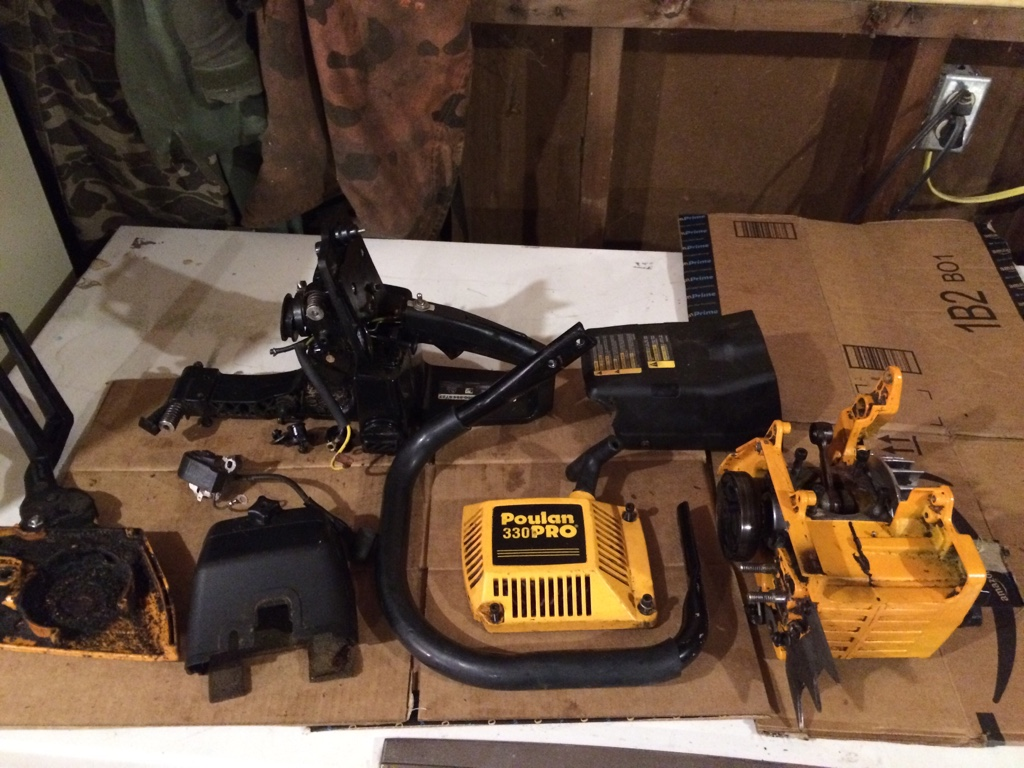 Sold Poulan Pro 330 Parts Outdoor Power Equipment Forum Chainsaw Schematic 60 Plus Shipping Img