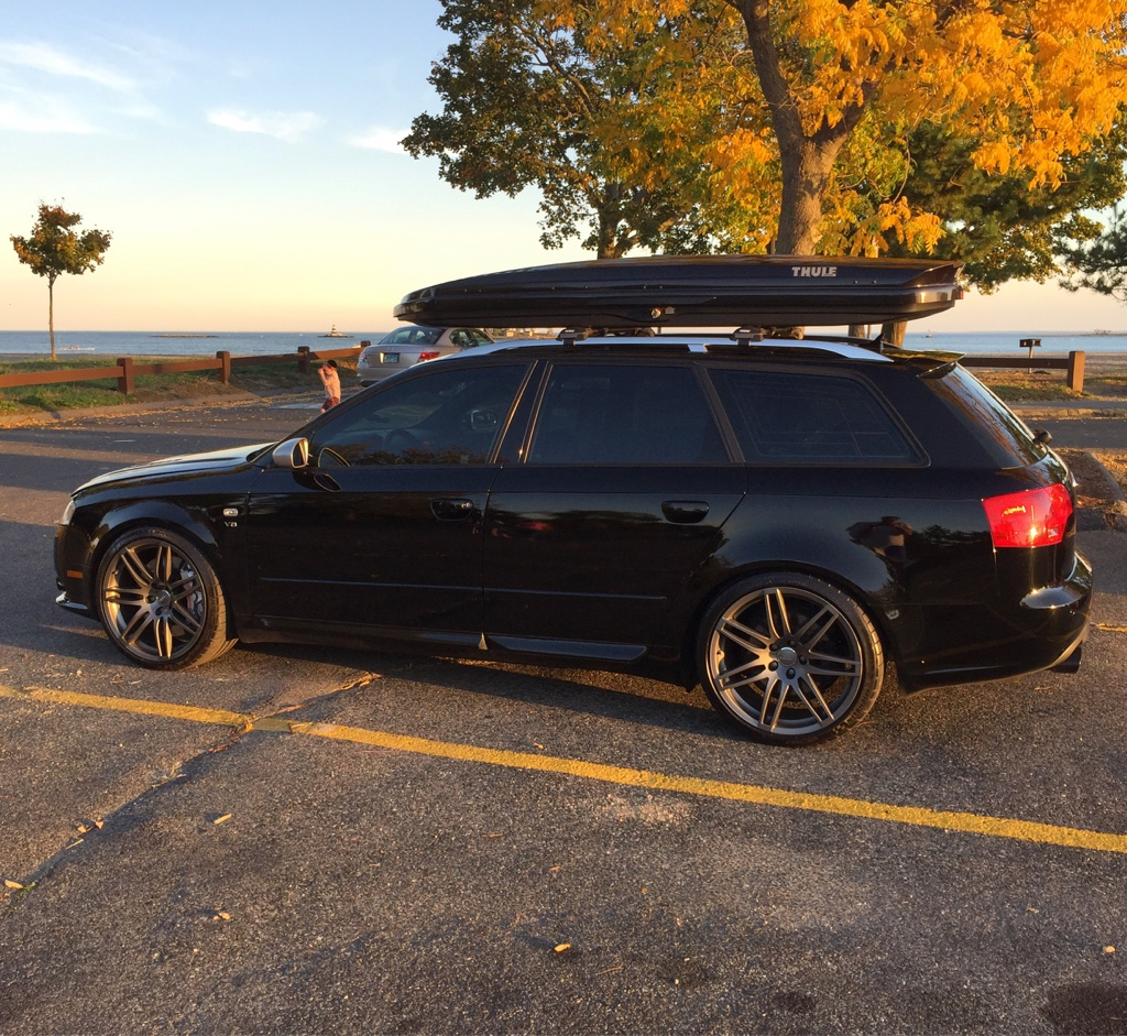 Audi A4 Ultrasport For Sale: The Roof Mounted Cargo Box Thread