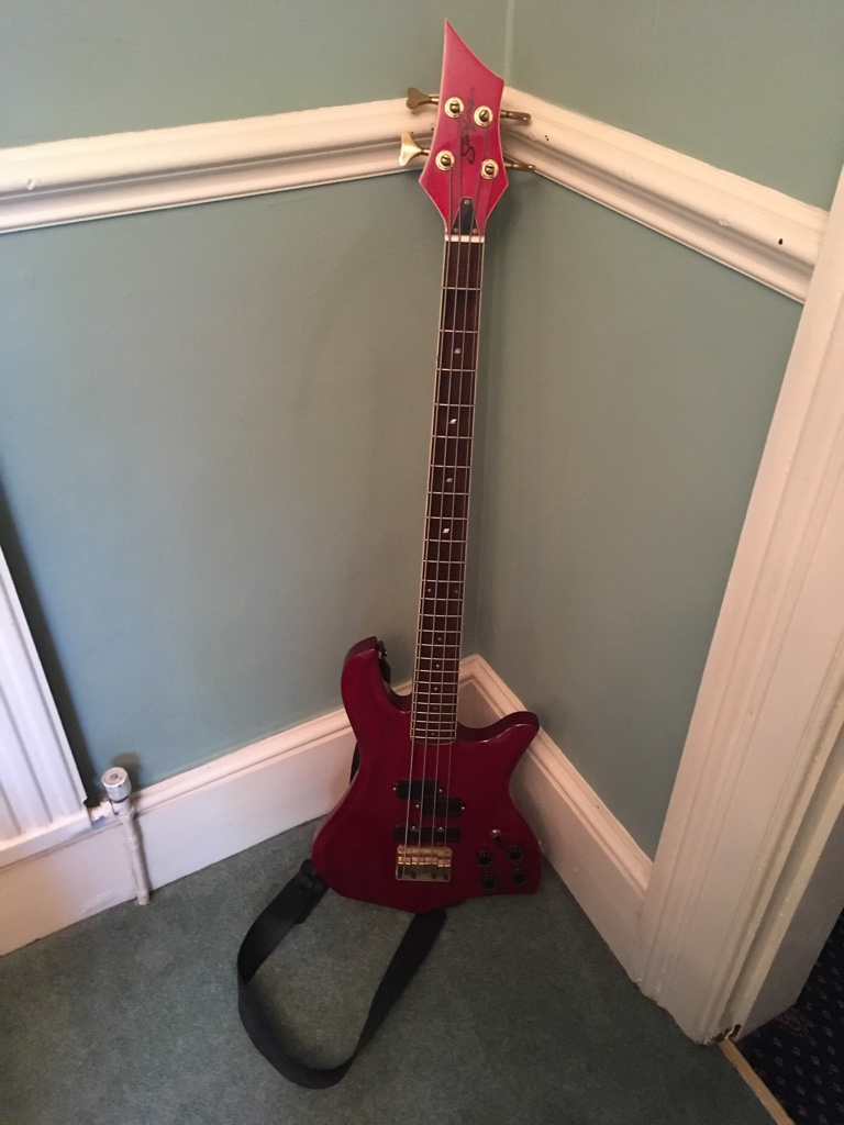 I really was gifted a starforce bass despite being a guitarist from my  uncle. All I know is that it's a starforce bass from the 80s or early 90s