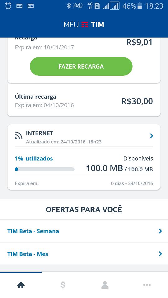 OficialMOB] TIM beta - Solicitações/Anúncio = BAN