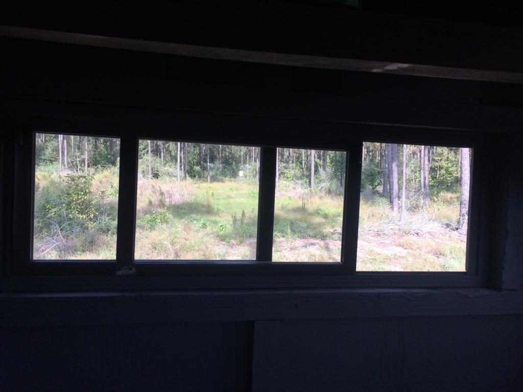 Building deer blind windows for Building deer blind windows