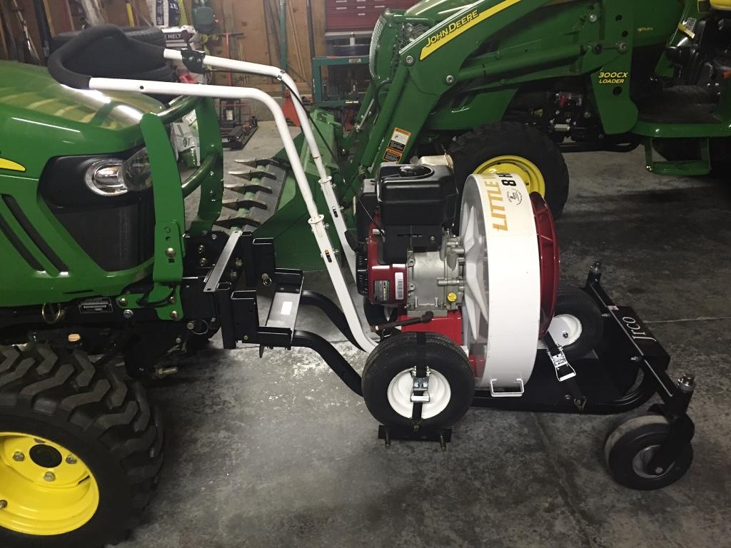 Pto Blowers For Tractors : Pto debris blower idea